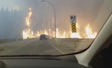 Të shohësh ferrin me sy: Kështu dukej gjendja në Alberta të Kanadasë (Video)