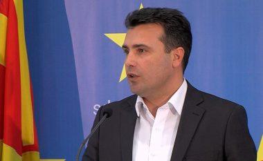 Zaev: Do të vazhdoj të bëj tifo për futbollin e Maqedonisë (VIDEO)