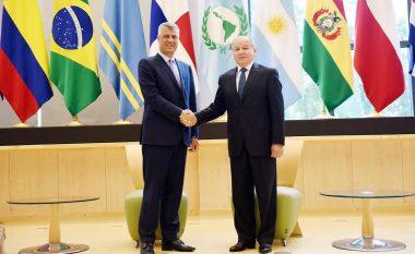 Thaçi kërkon thellimin e bashkëpunimit me Parlamentin e Amerikës Latine