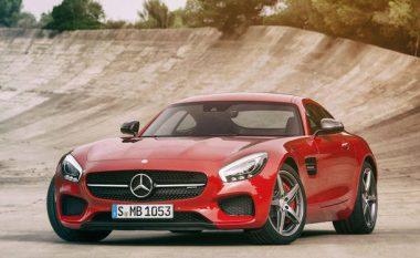 Mercedes Amg GT S 2016 me defekt