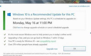 Microsoft ndryshon opsionet e instalimit të Windows 10