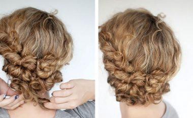 Mënyra fantastike dhe të lehta për flokë të shkurtra dhe me kaçurrele