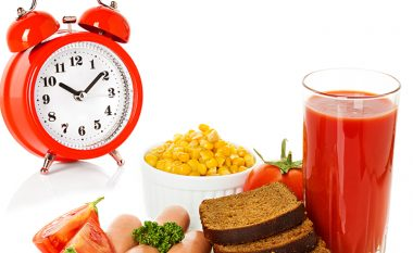 Oraret më të mira për të ngrënë