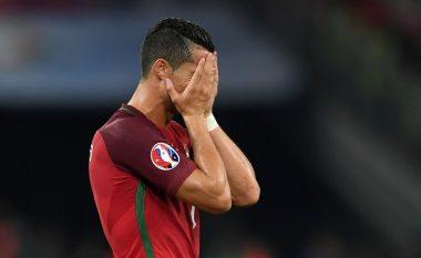 Ronaldo me një rekord të zi në Euro 2016!