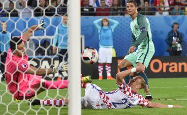 Statistikë interesante: Goli erdhi pas goditjes së parë të Ronaldos drejt portës