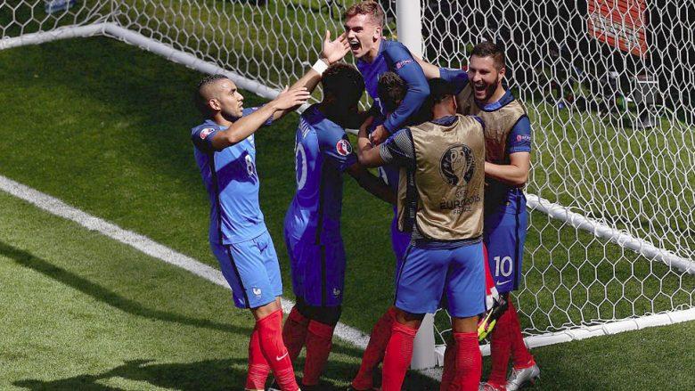 Franca përmbys Irlandën për të shkuar në çerekfinale (Video)