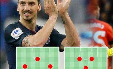 Kështu do të duket sulmi i Manchester United me Ibrahimovicin në krye (Foto)