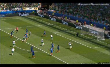 Irlanda shokon Francën, gol në minutën e parë (Video)