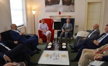 Takohen Mustafa e Rama, inaugurohet linja energjetike Kosovë-Shqipëri