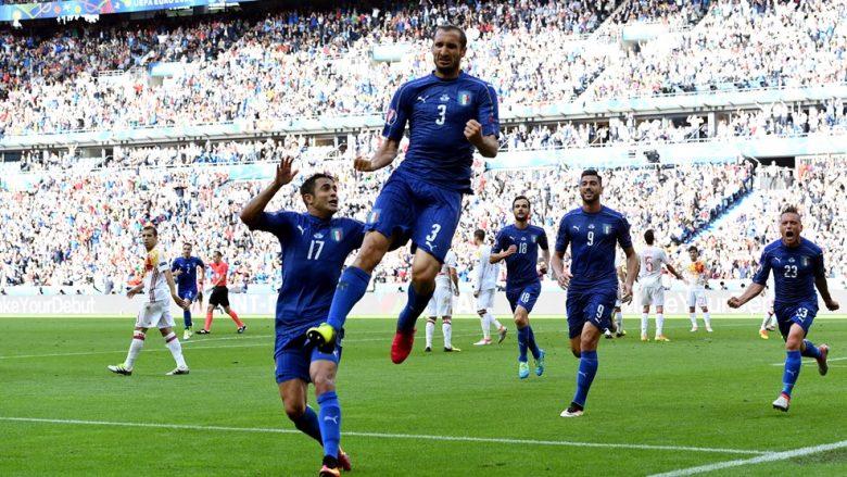 Italia e çeliktë, dërgon Spanjën në shtëpi (Foto/Video)