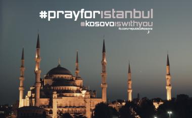 Yjet shqiptarë solidarizohen me popullin turk pas sulmeve terroriste (Foto)
