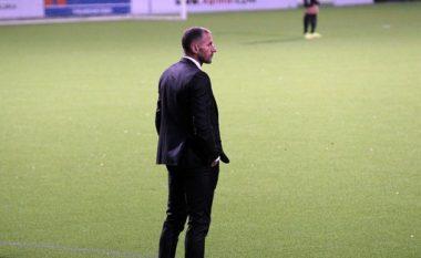 Arrihet marrëveshja, Shefki Kuqi, trajner i skuadrës angleze