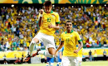 Brazili publikon listën për Lojërat Olimpike, në listë Neymar dhe një 38 vjeçar