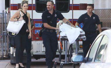 Rita Ora përfundon në spital (Foto)