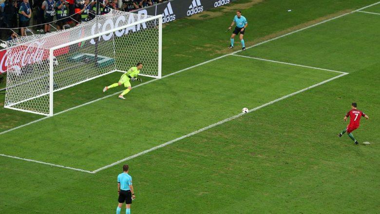 Portugalia në gjysmëfinale pas penalltive (Video)