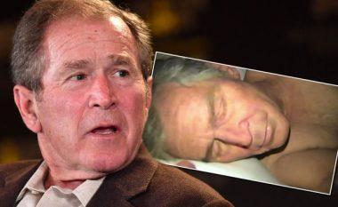 U paraqit nudo në shtrat me Kanye West, reagon ish-presidenti Bush (Foto, +16)