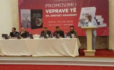 Shefqet Krasniqi promovoi tre libra