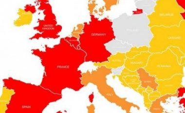Shkalla e rrezikut nga sulmet terroriste – ja ku gjendet Kosova (Foto)