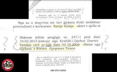 Çudira shqiptare: Gjyqtarja ia 'merr' tokën qytetarit nga Kruja, ia 'jep' një gruaje nga Korça (Video)