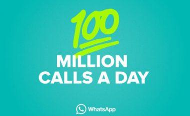 WhatsApp realizon mbi 100 milionë thirrje në ditë!