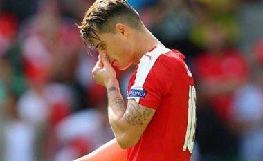 Xhaka flet për herë të parë pas humbjes së penalltisë
