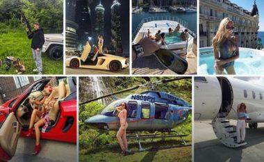 Shikoni çfarë jete bëjnë fëmijët e miliarderëve rusë (Foto)