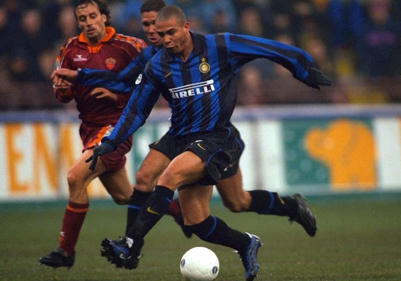 Ronaldo Inter Milan Stock Season 98/99 Mandatory Credit : Action Images / Stuart Franklin