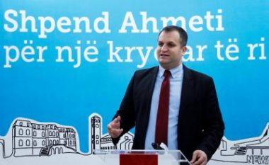 Shpend Ahmeti do të jetë sërish kandidat i VV-së për Prishtinën
