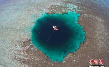Shpella nënujore më e thella në botë (video)
