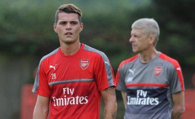Xhakës i ndodh diçka e turpshme në stërvitje me Arsenalin (Foto)