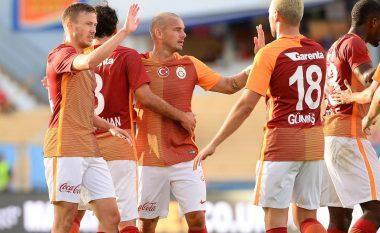 Bruma kalon në epërsi Galatasarayn me një gol të bukur (Video)