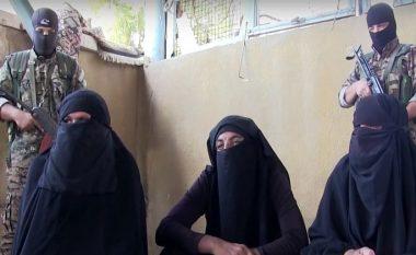 Xhihadistët e ISIS-it dorëzohen, kapen duke ikur nga qytetit të veshur si femra (Video)