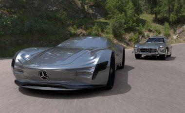 Koncepti i SL PURE nga Mecedes-Benz, i bazuar në modelin e vjetër Gullwing (Foto)