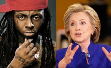 Pas gruas së Trump, Hillary Clinton akuzohet se ka përdorur vargjet e Lil Wayne në fjalim