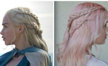 """Stilet e mahnitshme të flokëve të cilat i kemi mësuar nga heroinat e """"Game of Thrones"""""""