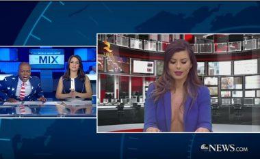 I del gjoksi bukuroshes së Zjarr TV, nuk e besoni reagimin e prezantuesit të njohur amerikan (Video)