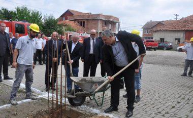 Në Podujevë u bë vënia e gurthemelit për ndërtimin e objektit të zjarrfikjes dhe shpëtimit