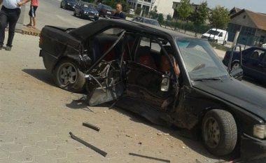 Aksident i rëndë në Prizren, tre të lënduar (Foto)