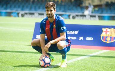Transferimi i ri i Barcelonës zihet ngushtë me pyetjen se kush është më i fortë, Messi apo Ronaldo (Video)