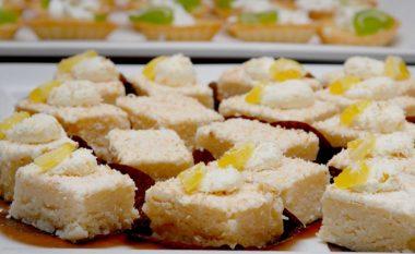 Bajadera të bardha me kokos: Pa pjekje, gatuhen për 10 minuta!