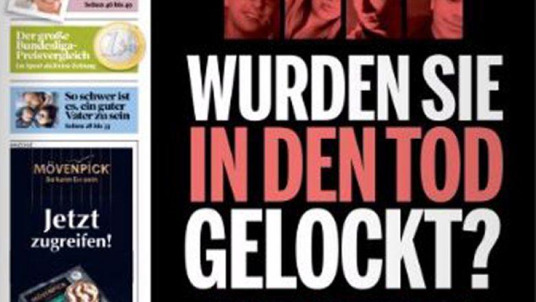 Ballinat e gazetave të Gjermanisë, një ditë pas terrorit në Munih (Foto)