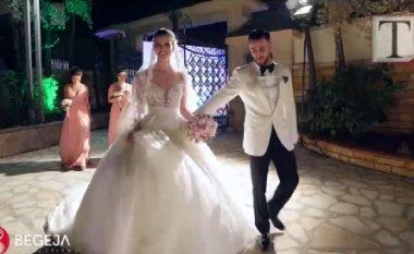 Momente prej dasmës së vajzës së Bamir Topit (Video)