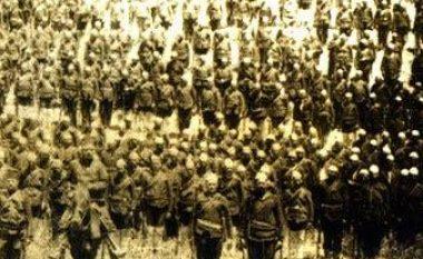 Pamje e vitit 1880: Ushtarët me plisa të Batalionit të Prizrenit, që Sulltani i dekoroi për heroizëm në luftën kundër grekëve (Foto)