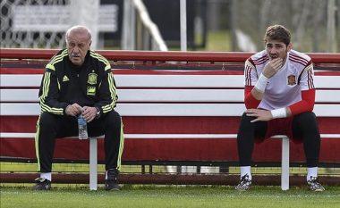 Mësohet arsyeja e dështimit të Spanjës, Del Bosque dhe Casillas armiq të përbetuar