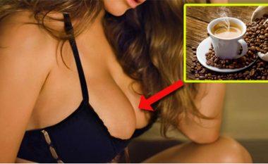 Më shumë se tre filxhanë kafe në ditë, zvogëlon gjinjtë