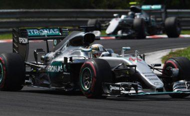 F1: Hamilton me rekord, fiton në Hungari