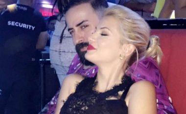 Geti dhe Marina puthje dhe përqafime (Foto/Video)
