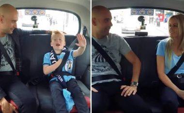 Guardiola befason fansat: Bën xhiro me taksi në rrugët e Manchesterit (Video)