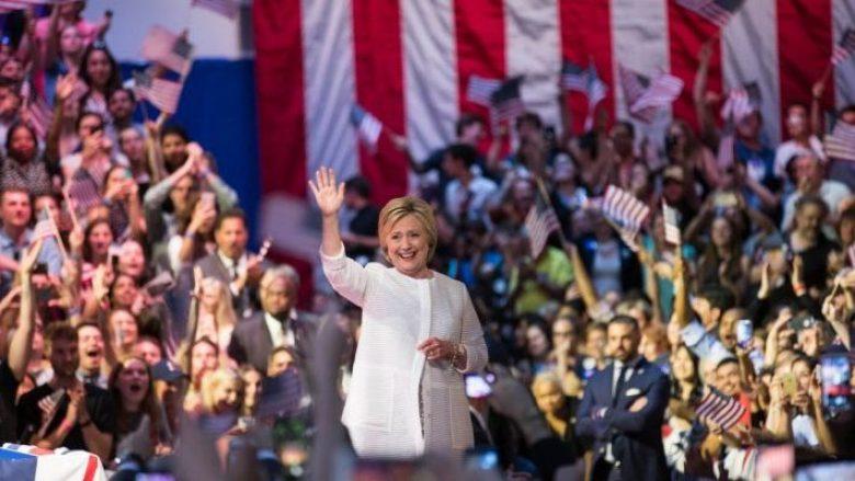 Hillary Clinton e fiton nominimin historik për Presidente (LIVE)