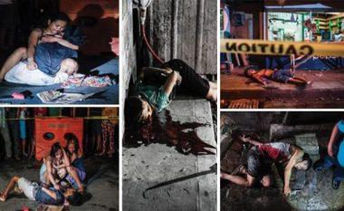 Pamje horror: Shpërndarësit e drogës në Filipine vriten në mes të rrugës (Foto +18)